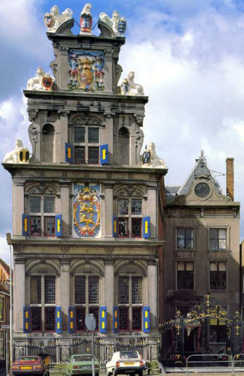 The Museum of the 20th centure located at the most famous square in Hoorn 'de Rode Steen'
